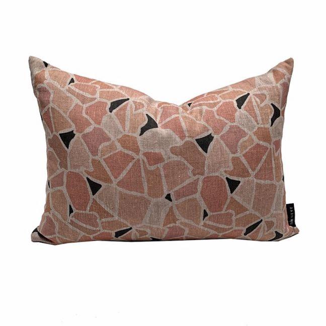 Mosaic Cushion   Clay