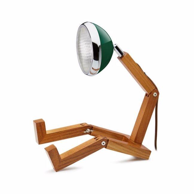 Mr Wattson Table Lamp - Chiltern Green