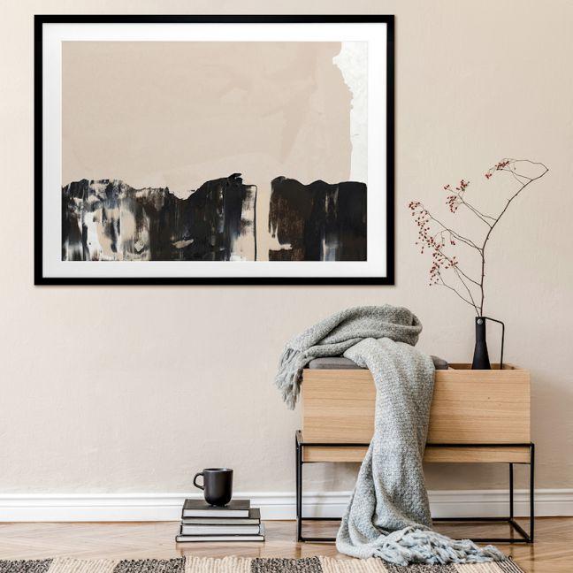 Mudslide III | Canvas Art Print