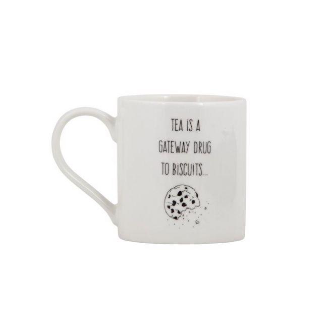 Mug | Tea is a gateway drug to biscuits