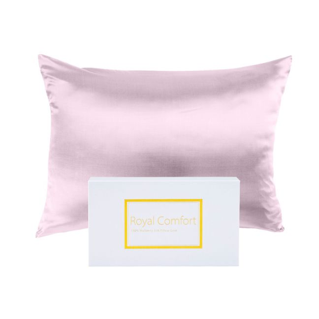 Mulberry Silk Pillow Case | Twin Pack | Multiple Colours