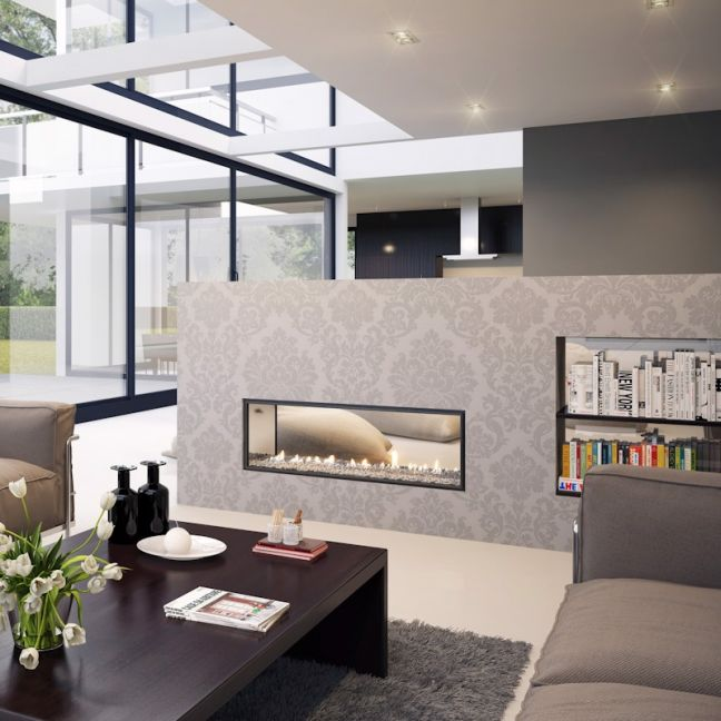 Multiroom Gas Fireplaces | DX Series | DX1000 Double Sided