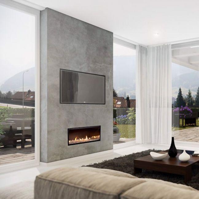 Multiroom Gas Fireplaces | DX Series | Single Sided