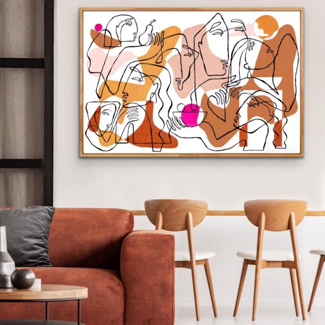 My Home, Your Home | Limited Edition Unframed Print | by Octavia Tomyn