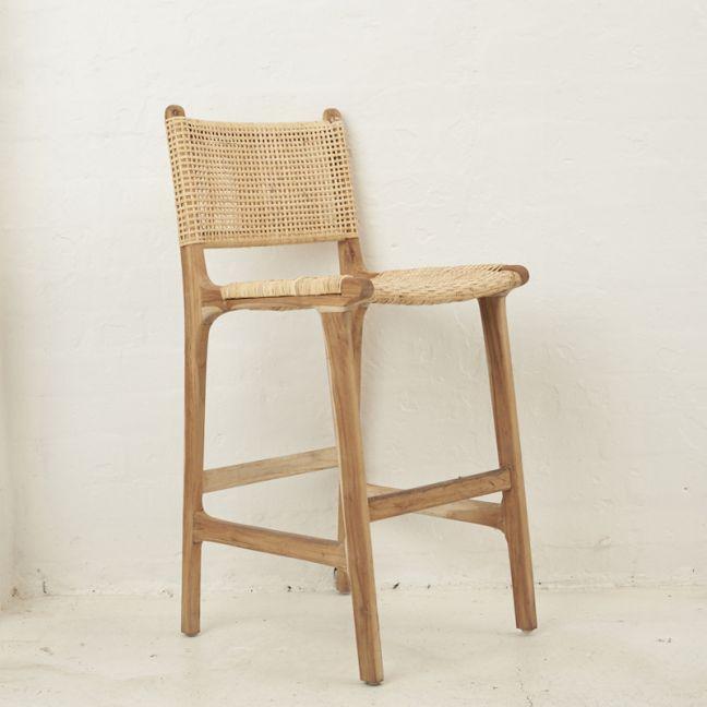 Nalani Woven Barstool l Custom Made