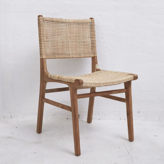 Nalani Woven Dining Chair l Custom Made