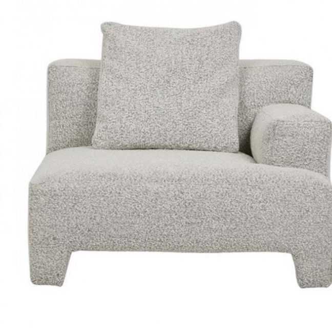 Natadora Morocco Right Arm Sofa   Speckle Boucle   Pre Order