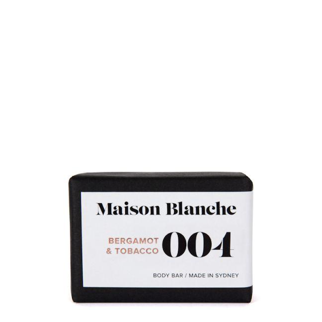 Natural Body Bar | 004 Bergamot & Tobacco | 150g