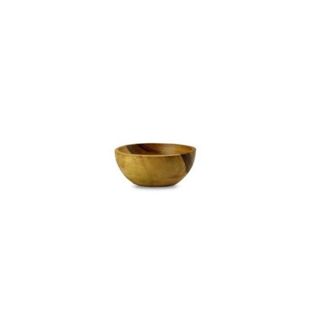Natural Teak Pinch Bowl | OMG I WOULD LIKE
