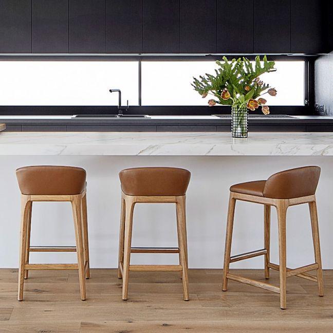 New York Kitchen Stool   Nat Oak by SATARA