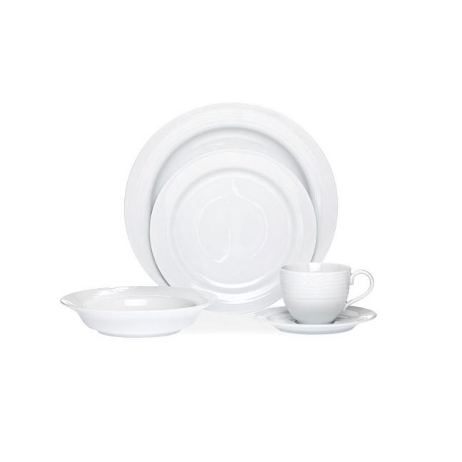 Noritake Arctic White 20 piece Dinner Set