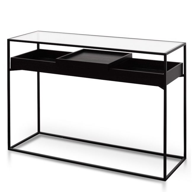 Norman Metal Frame Console | Black | Interior Secrets |Pre Order