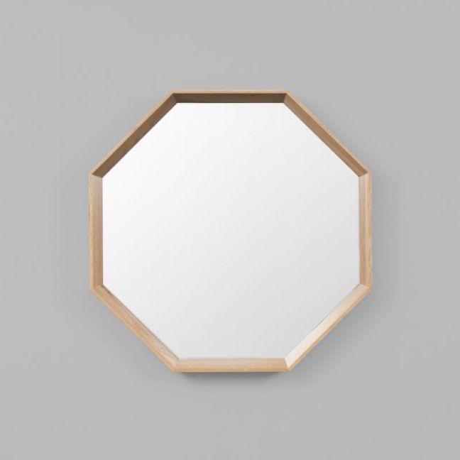 Oakwood Octagon Mirror
