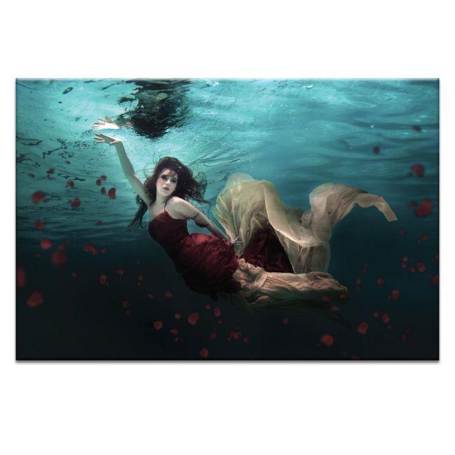 Ocean of Roses | Canvas or Art Print | Framed or Unframed