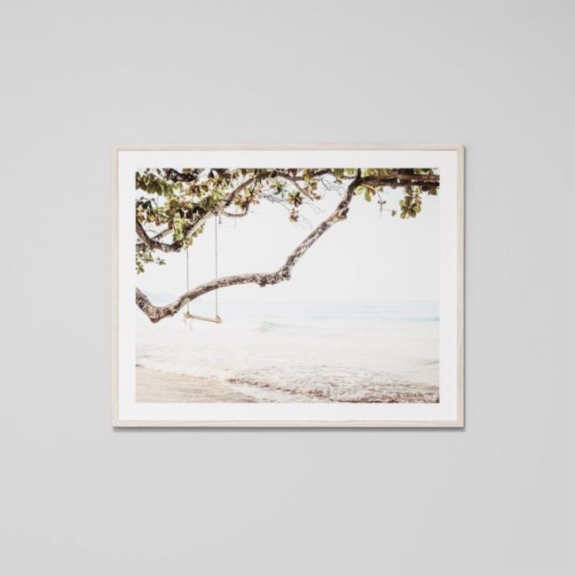 Ocean Swing | Framed Photographic Print