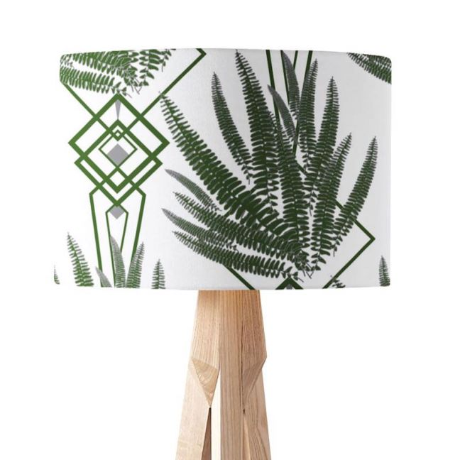 Octavia Green   Paper Lampshade   Various Sizes   Amba Florette