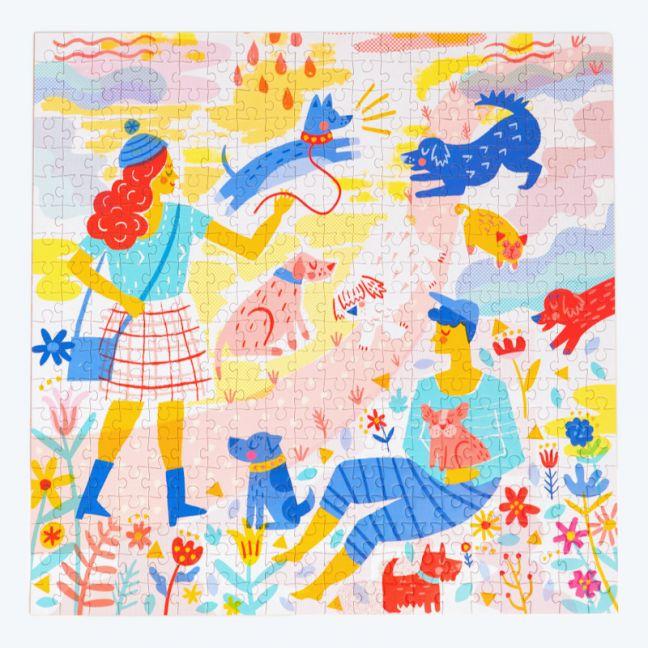 Okay Lady | Her Best Friend | Mindful Jigsaw Puzzle 400 Piece