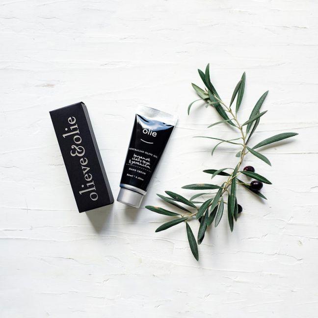 Olieve & Olie Bergamot & Clary Sage Hand Cream | by Aura Home