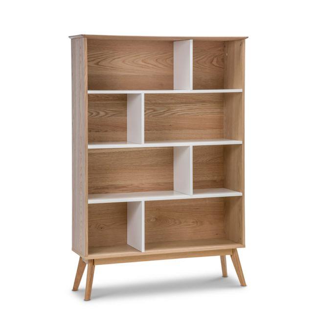 Ollie Oak Bookshelf | White