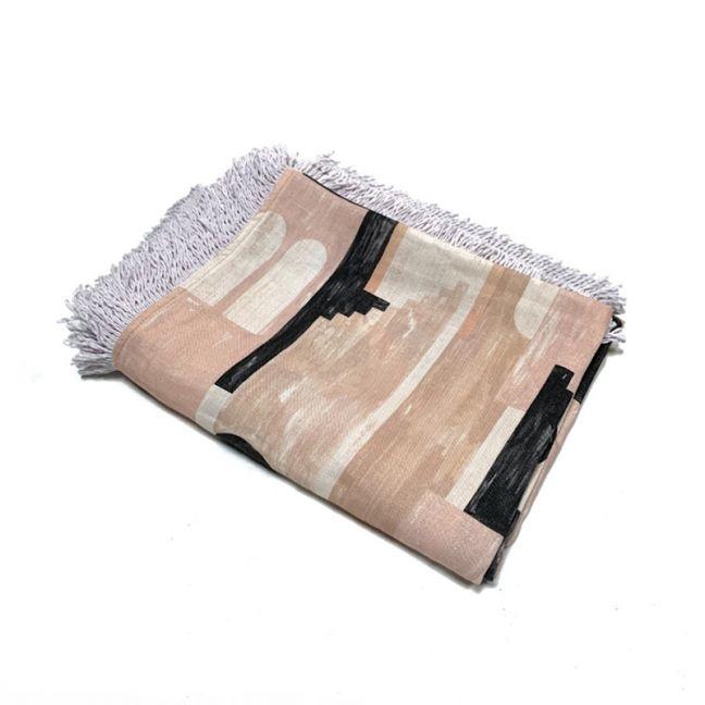 Olympus Linen Throw   Clay