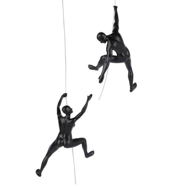Ondra & Ashima Climbing Sculpture Pair | CLU Living