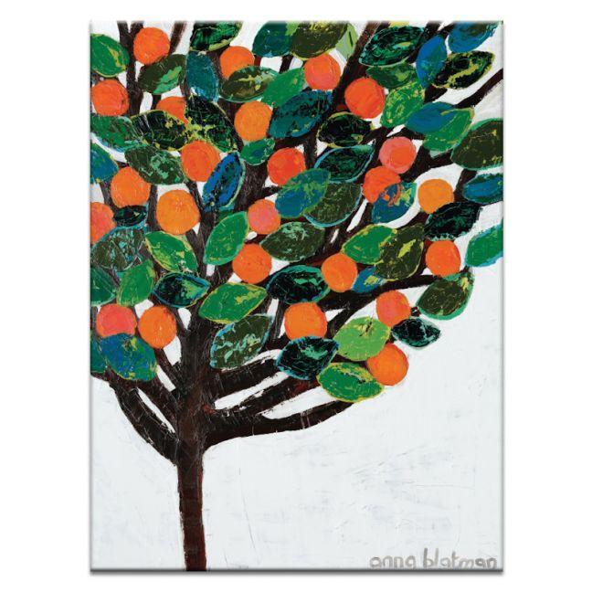 Orange Galore   Anna Blatman   Canvas or Print by Artist Lane