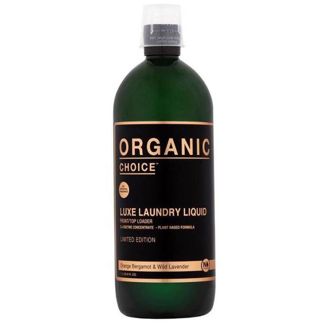 Organic Choice Luxe Laundry Liquid   Orange Bergamot & Wild Lavender