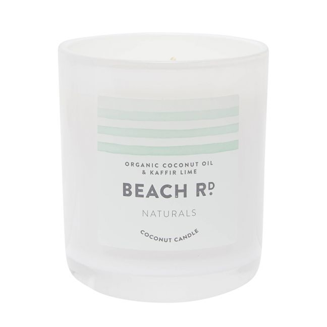 Organic Coconut and Lime Candle | 300g