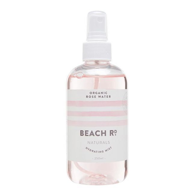 Organic Rose Water Hydrating Mist | 250ml | by Beach Road Naturals