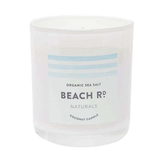 Organic Sea Salt Coconut Candle | 300g
