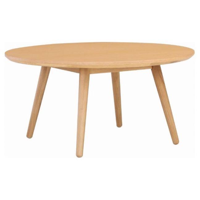 Oringo Coffee Table   Round   Oak