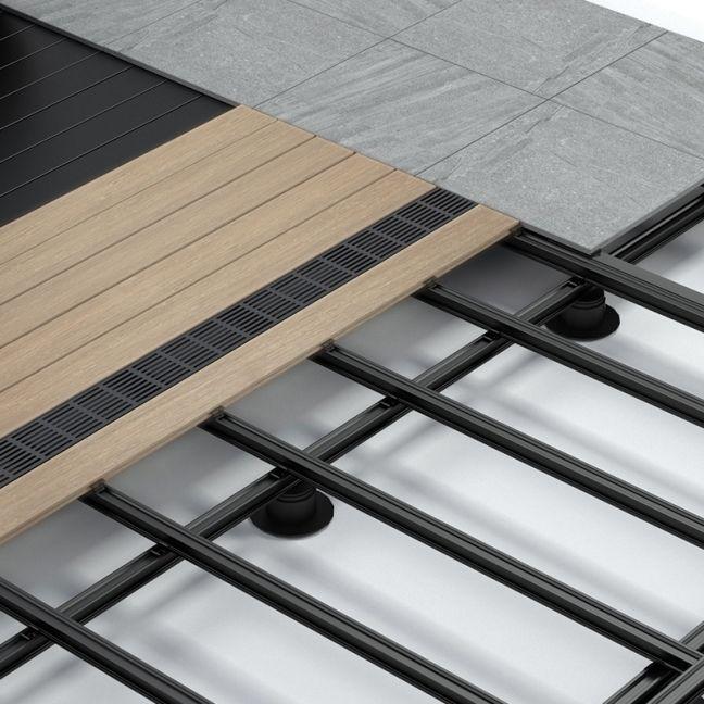 Outdure   QwickBuild Aluminium Deck Framing & Support System