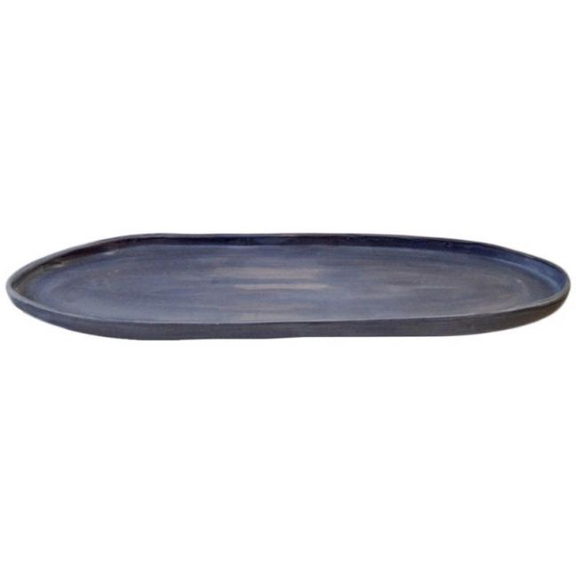 Oval Platter | Ink | by Batch Ceramics