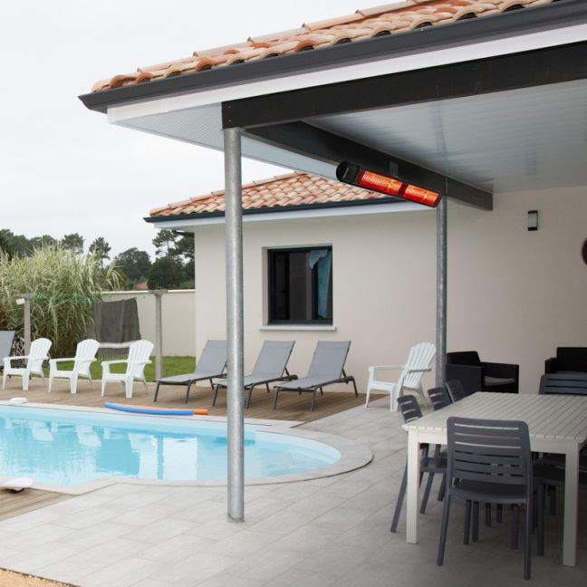Overhead Outdoor Heaters | Radiant Ceramic | RIR2000