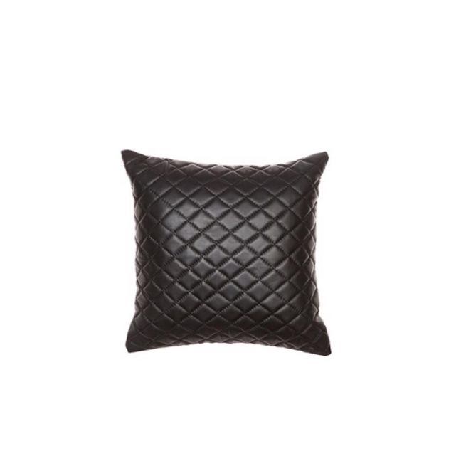Pages Cushion by Amigos De Hoy | Square | Quilted | Black