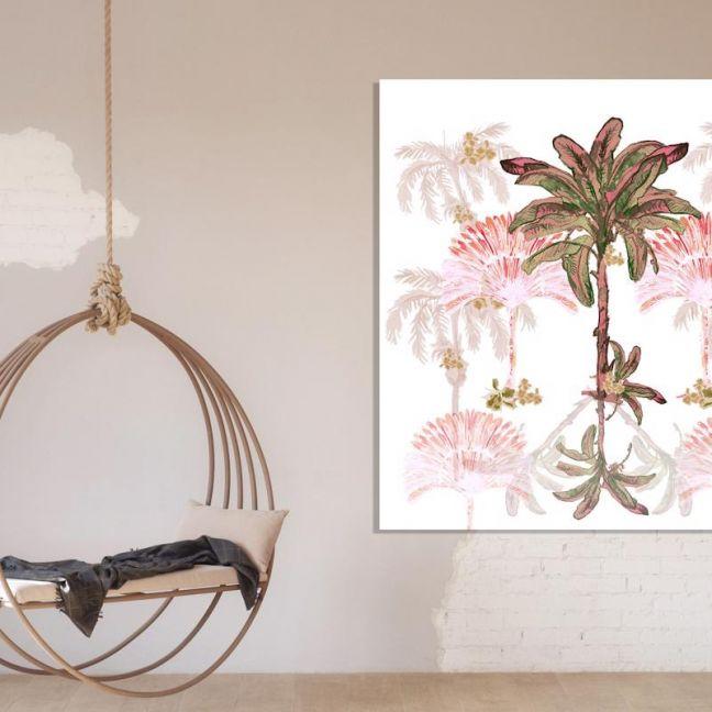 Palm Hills | Canvas Print by Libby Watkins