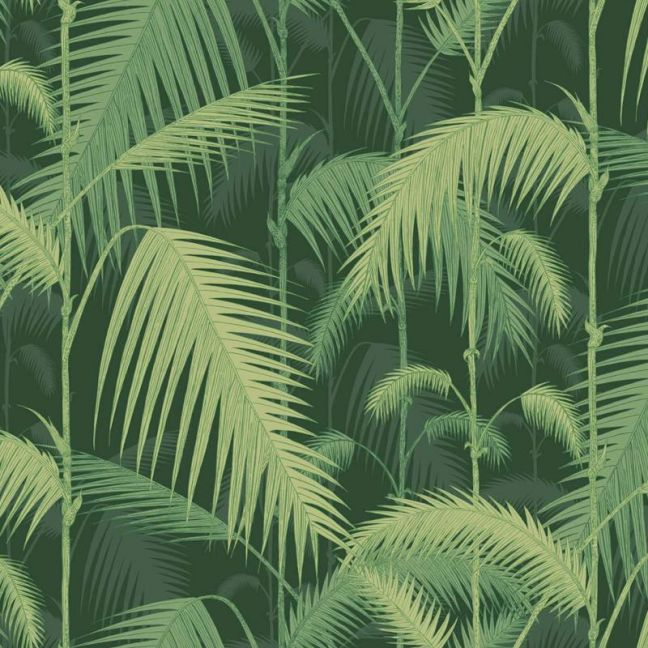 Palm Jungle wallpaper - Forest Green