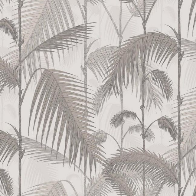 Palm Jungle wallpaper - Stone & Taupe