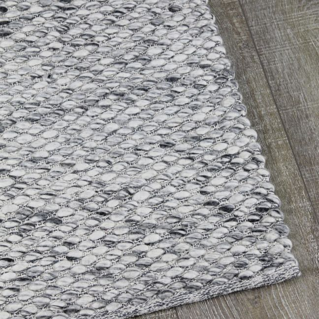 Palmas Wool Rug | Smoke Grey | Pre Order Mid December 2020