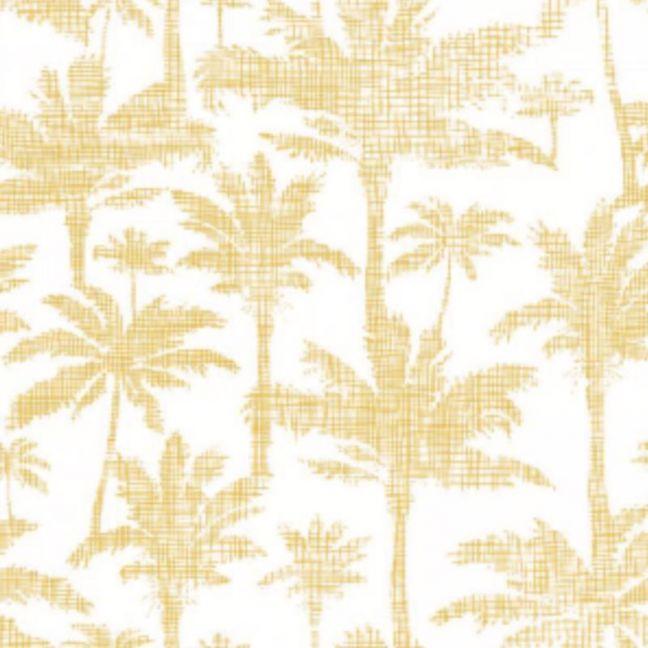 Palms Golden Wallpaper