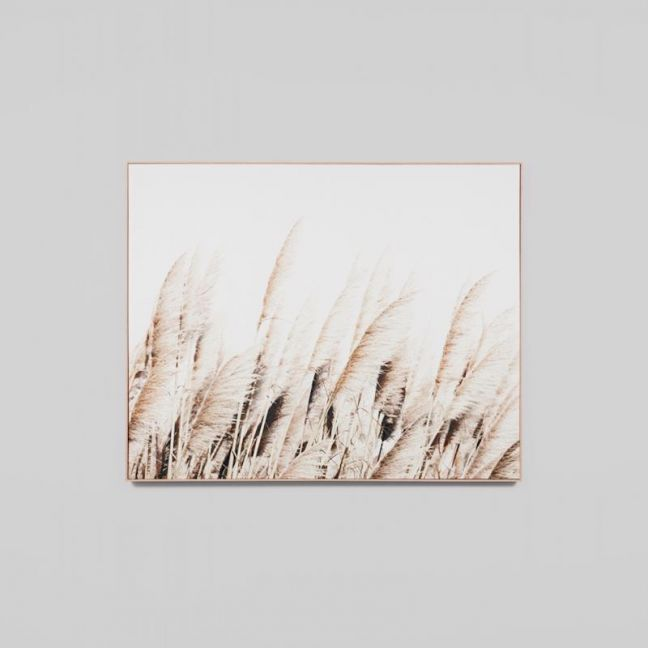 Pampas Breeze | Framed Photographic Canvas Print | by Matthew Thomas