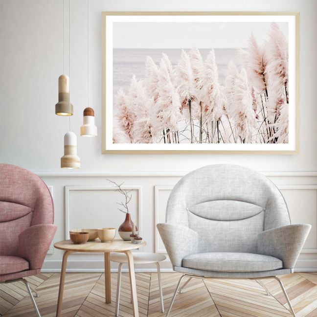 Pampas Grass II Photo Art Print (Various Sizes)