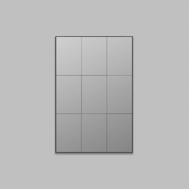 Panelled Leaner Mirror | Grey Tint