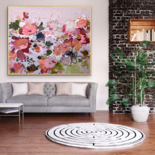 Paper Daisies by Kate Owen | Ltd Edition Canvas Print | Art Lovers Australia