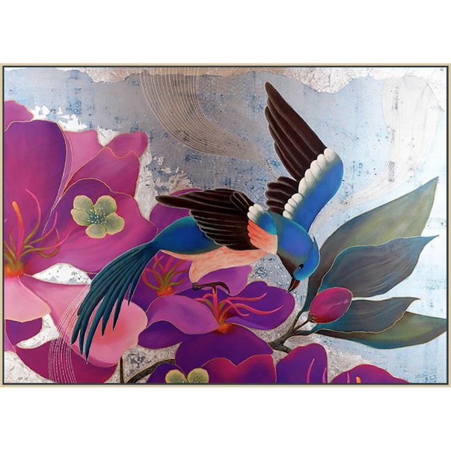 Paradise Bird by Cheryl Petersen   A print on Canvas   Framed or Stretched