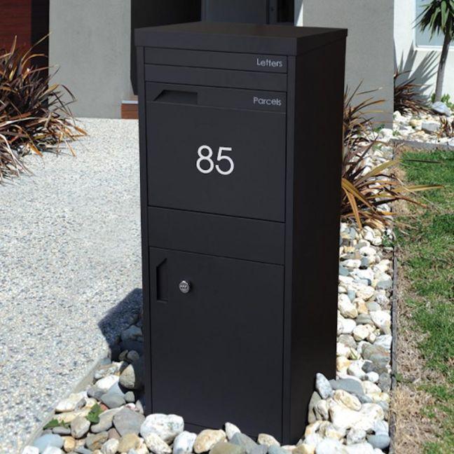 Parcel Dropbox Letterbox | Midnite Black