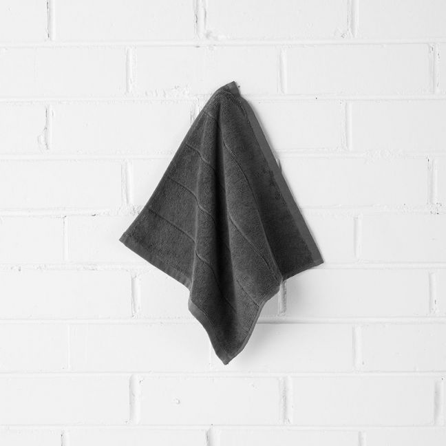 Paros Face Washer | Charcoal by Aura Home