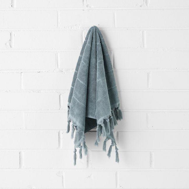Paros Hand Towel   Eucalypt by Aura Home