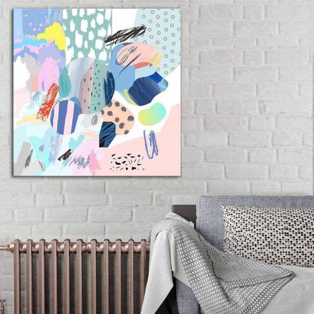 Pastel Haze | Canvas Print