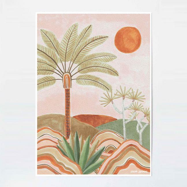 Pastel Vista   Unframed Fine Art Print by Karina Jambrak